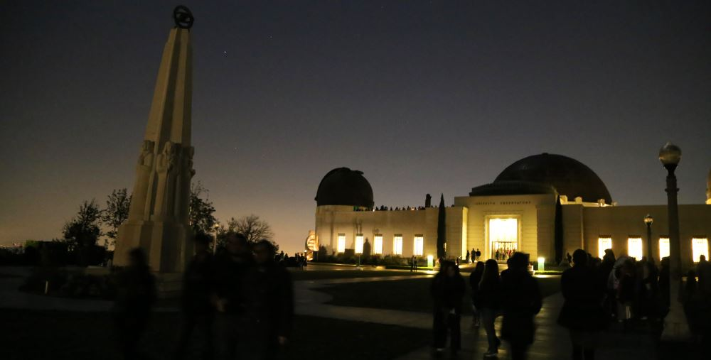 Griffith Park Observatory lawn