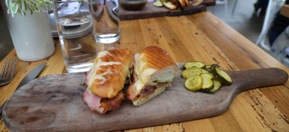 Cubano sandwich at Rose Cafe