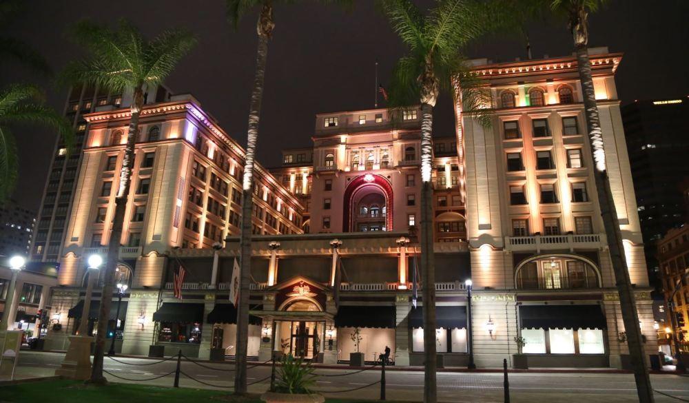 US Grant Hotel across from Horton Plaza