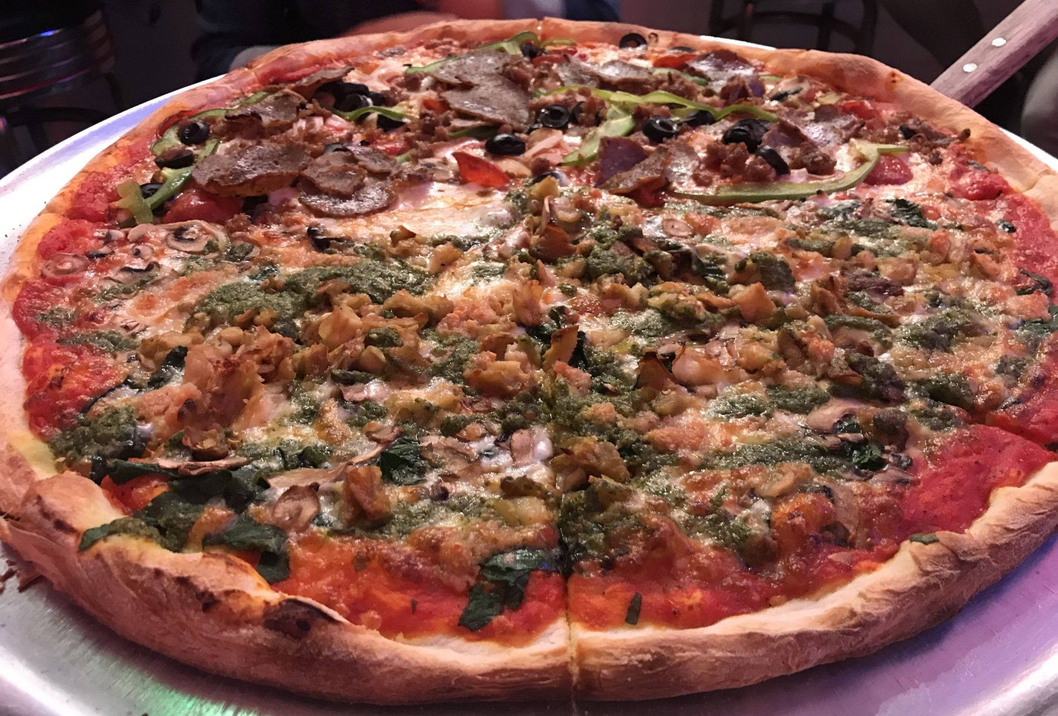 Pizza from Village Pizza in Larchmont Village
