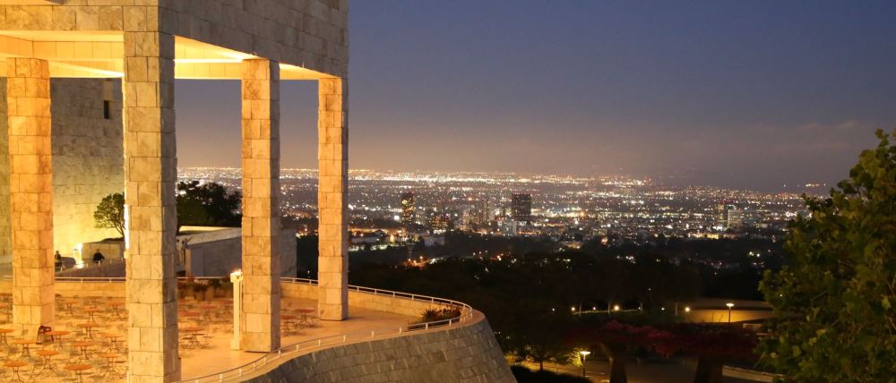 View from the Getty Center
