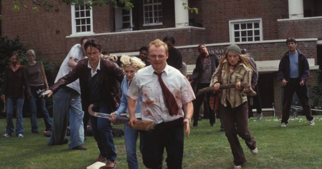 Al igual que Shaun of the Dead.  Crédito: Universal Pictures