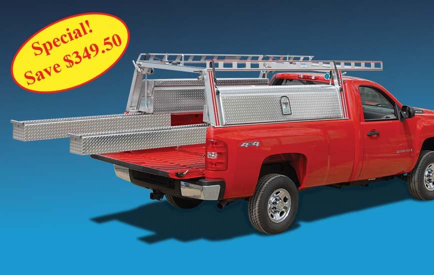 system one aluminum ladder racks truck