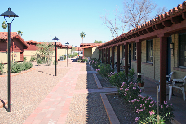 Phase I of the Ghost Ranch Lodge