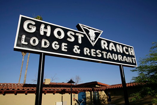 Ghost Ranch Lodge Sign