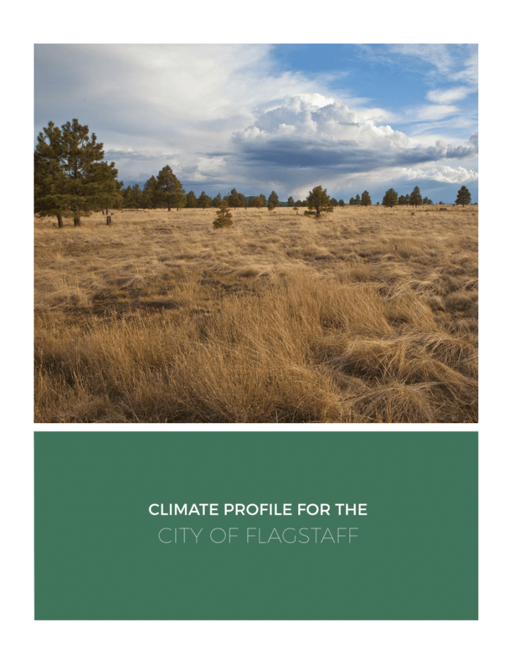 Climate Profile for the City of Flagstaff