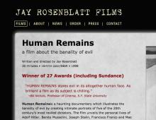 Jay Rosenblatt Films