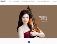 Andrea Segar, Violinist