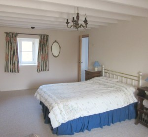 Normandy farmhouse double bedroom