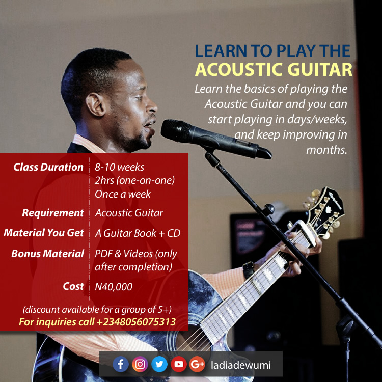 Basic Acoustic Guitar Lessons with Ladi
