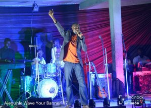 Ladi ministering at Ajegunle Wave Your Banner 2017
