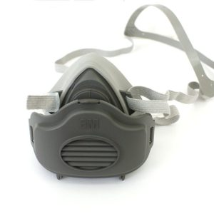 3M 3200 Dust Mask Respirator Half Face Dust-proof Mask Anti Industrial Construction