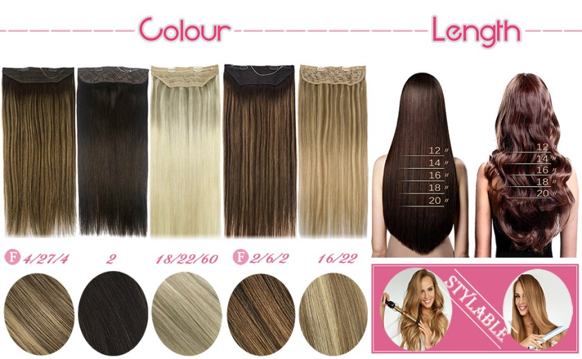 googoo hair extensions color and length
