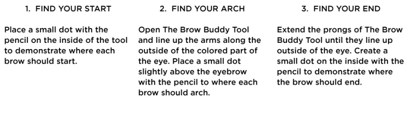 Billion Dollar Brows Brow Buddy Shaping Tool Kit