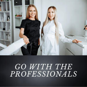 go with the professionals