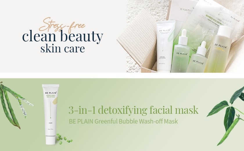 stress free clean beauty skincare 3 in 1 detoxifying facial mask washoff mask