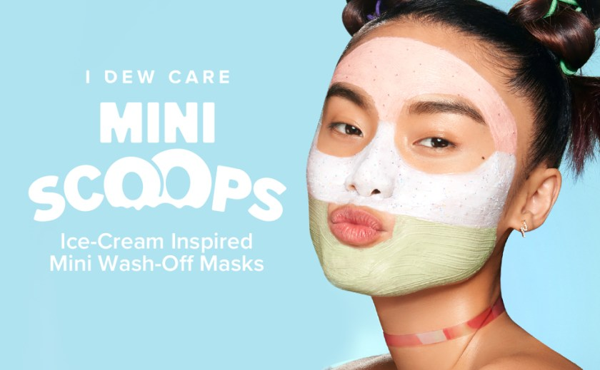 I DEW CARE, CAKE MY DAY, BERRY GROOVY, MATCHA MOOD, wash-off mask pack, Korean skincare