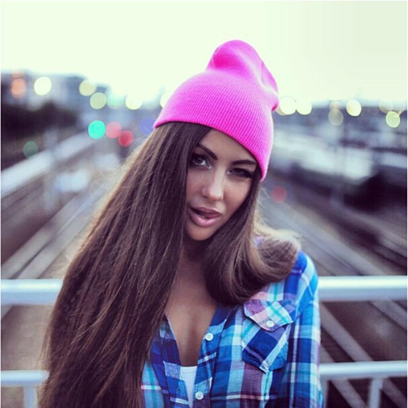 Women/'s Men/'s Hat Unisex Warm Winter Knit Fashion cap Hip-hop Beanie Hats New