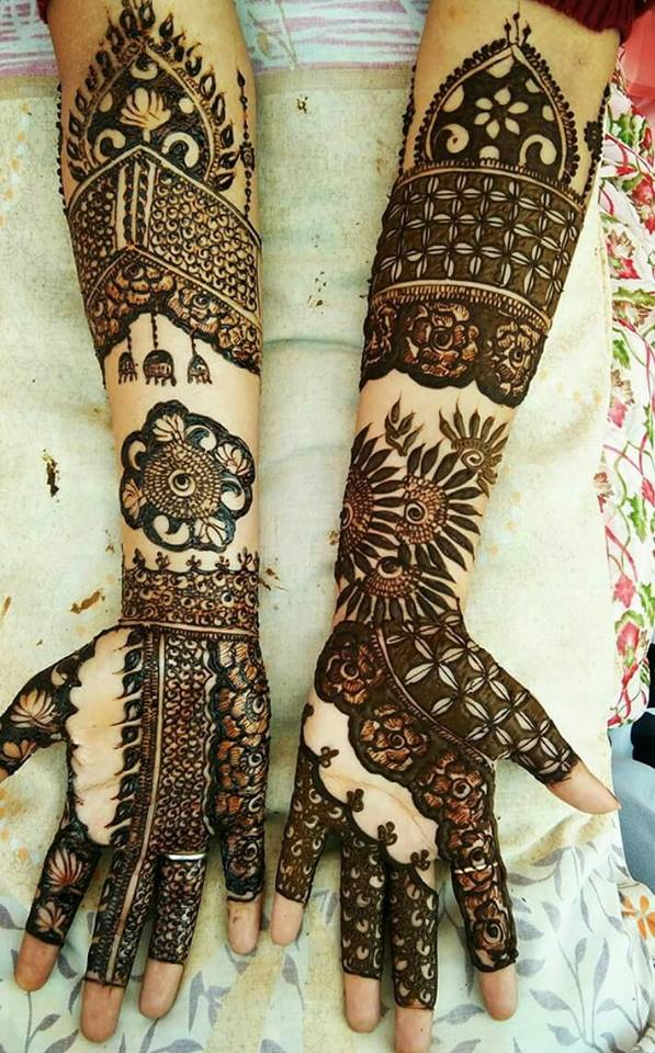 Famous Bridal Mehndi Design For Ladies Fashion Beauty