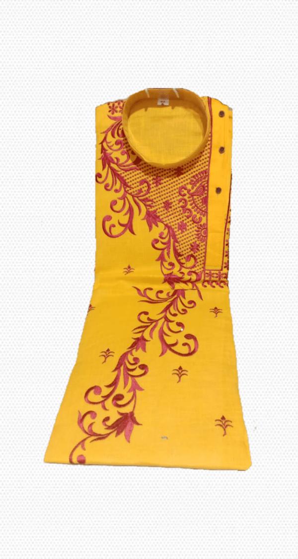 Embroidery Cotton Punjabi