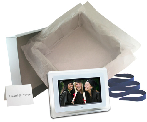 Ladies Gadgetsa 7 Digital Picture Frame With Free Online Photo