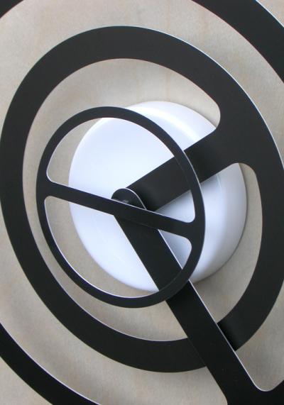 Orbit-r Wall Clock by Dave Keune (2)