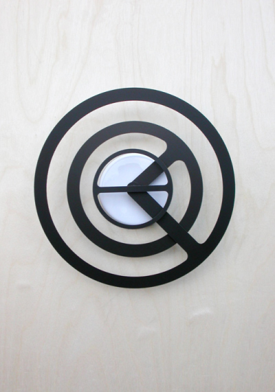 Orbit-r Wall Clock by Dave Keune