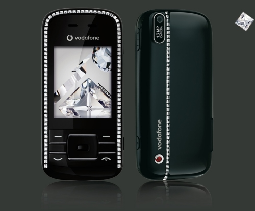 Vodafone VF533 Made by Sagem, Decorated by CRYSTALLIZED - Swarovski Elements