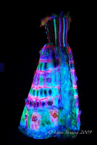 2 The 20th Century eTextile Evening Gown by Lynne Bruning