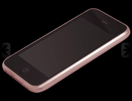 098d480e032 Goldstriker Announces the 18ct Solid Rose Gold iPhone 3GS Diamond and the Gucci  Pink Diamond Belt