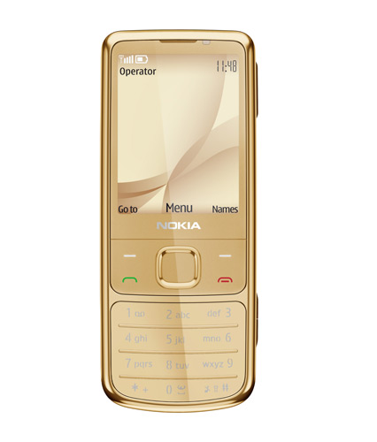Nokia 6700 classic Gold Edition Prepared for 2010 (2)