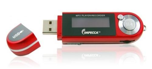 Impecca 4GB MP3 Player FM Radio and Portable Voice Recorder