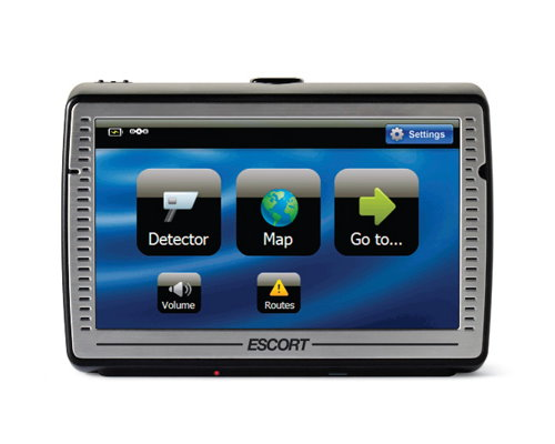 Escort Passport IQ Radar Detector and GPS Navigation System