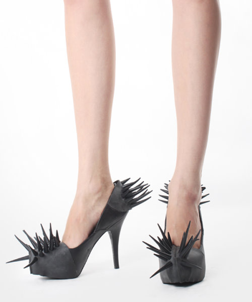 High Heels and Spikes by Barbara Gondini
