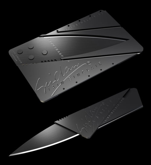 Iain Sinclair CardSharp Folding Pocket Knife