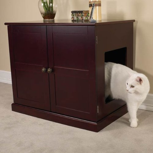 Hammacher Schlemmer Cat Box Furniture