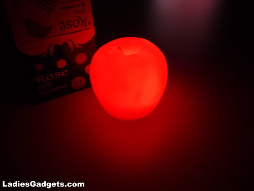 Color Changing Apple Shaped Night Light Review