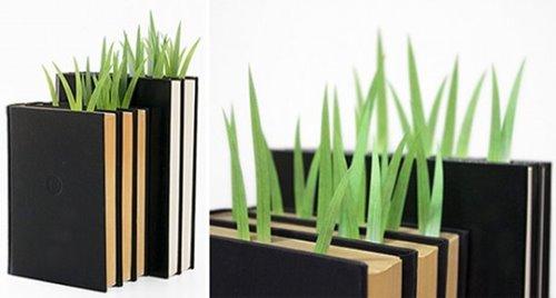 Grass Adhesive Bookmarks