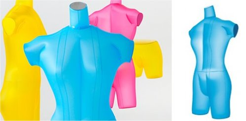 Airquin is a Cheap Inflatable Mannequin