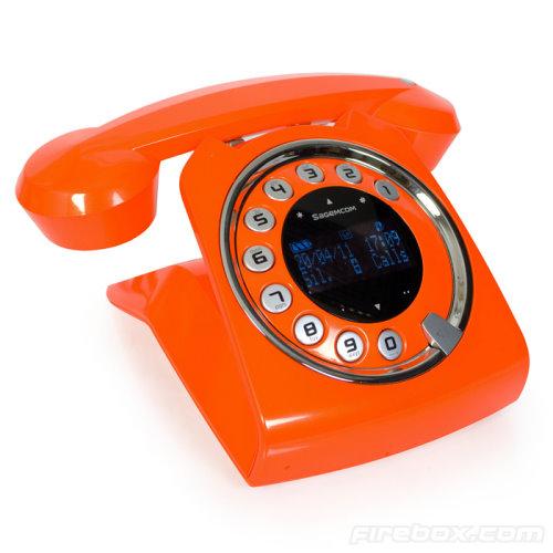 Sagemcom Sixty Retro-Style Cordless Telephone