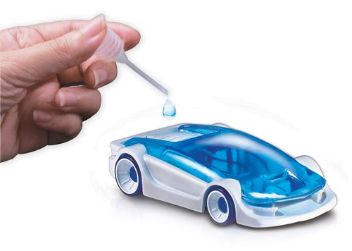 Cool Toy Car Powers From Salt Water