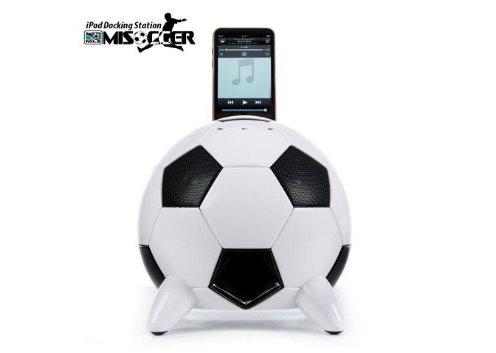 Speakal mi Soccer Ball Docking Station and Speaker System