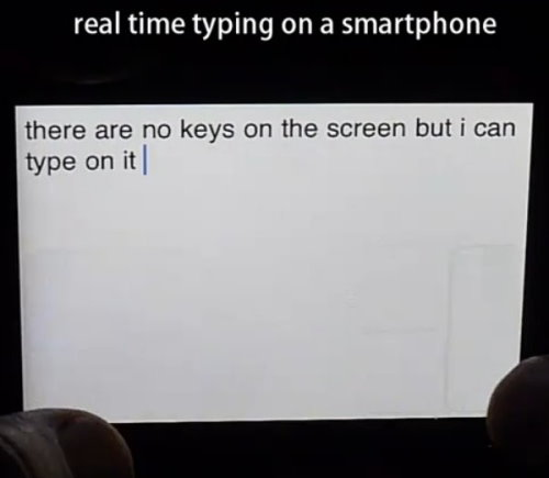 Snapkeys 2i Enables Fastest Blind Typing on Touchscreens