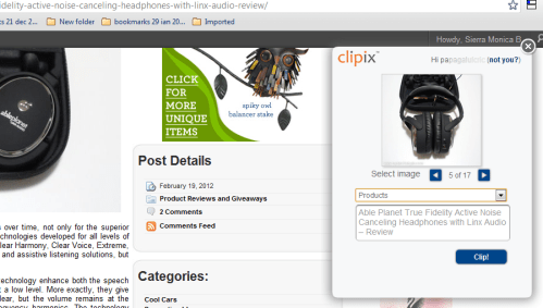 Keep Everything Organized and Handy in Your Web Browser with Clipix