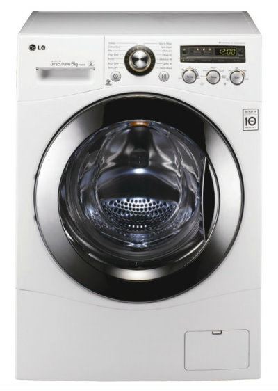 Step into the future with an LG washing machine
