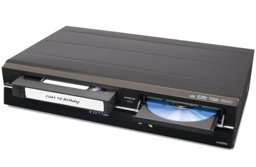 Slim Player Converts VHS to DVD