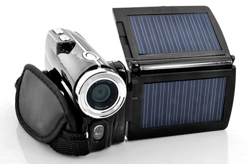 Solar Powered Camcorder