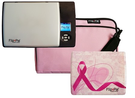 Flip Pal mobile scanner Pink breast cancer