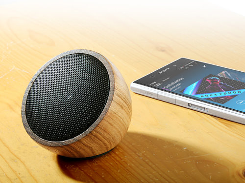Bluetooth Speaker Made From Zebrawood (1)