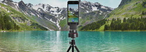 Rotating Mount for Taking Panoramas with Your Smartphone (2)